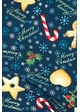 Christmas Wishes Peach Skin Leggings inset 1