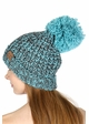 Chunky Knit Beanie Hat by CC Brand inset 2