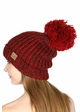 Chunky Knit Beanie Hat by CC Brand inset 4