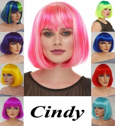 Cindy- Perfect Bob Wig with Bangs