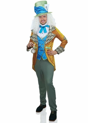 Classic Mad Hatter Costume for Men
