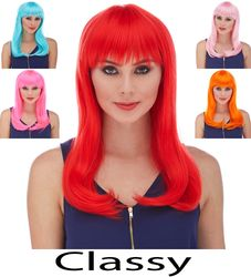 Classy- Long Wig with Full Bangs