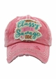 Classy With A Savage Side Vintage Hat  inset 1