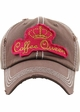 Coffee Queen Washed Vintage Ballcap inset 2
