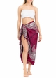Cool Cotton Sarong Wrap with Swirling Mandalas inset 2