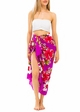 Cotton Sarong with Plumeria and Hibiscus inset 3
