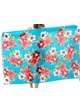 Cotton Sarong with Plumeria and Hibiscus inset 4