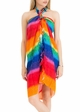 Cotton Sarong with Rainbow Sprinkle inset 3