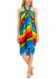 Cotton Sarong with Rainbow Stripe inset 2