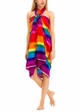 Cotton Sarong with Rainbow Stripe inset 4