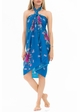 Cotton Sarong with Spring Flowers inset 2