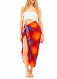 Cotton Sarong with Starburst inset 2