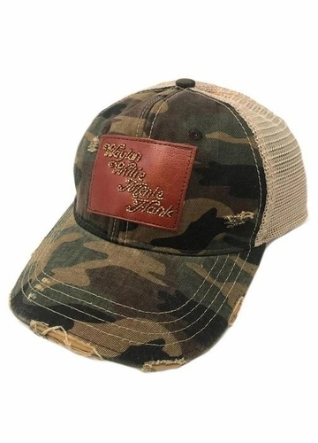 Country Legends Beaded Patch Baseball Hat