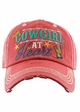 COWGIRL AT HEART Washed Vintage Ballcap inset 3
