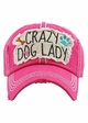 Crazy Dog Lady Vintage Baseball Hat inset 1
