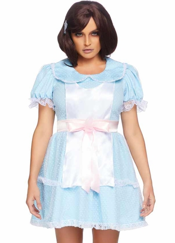 Creepy Sibling Babydoll Dress Costume
