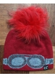 Crystal Goggles CC Beanie Hat with Pom inset 4
