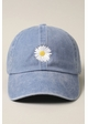 Daisy Embroidered Baseball Hat inset 1