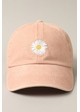 Daisy Embroidered Baseball Hat inset 3