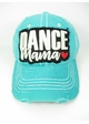 DANCE MAMA Washed Vintage Baseball Hat inset 1
