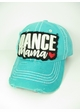 DANCE MAMA Washed Vintage Baseball Hat inset 3