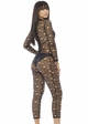 Distressed Net Catsuit inset 1