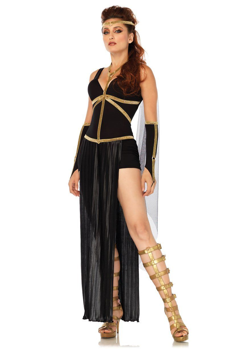 divine dark goddess halloween costume