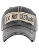 Do Not Disturb Patch Baseball Hat inset 1