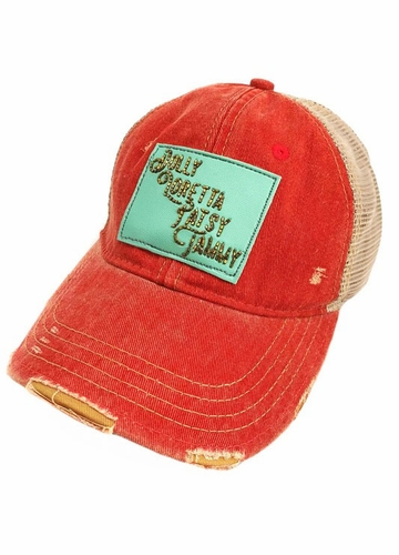Dolly, Loretta, Patsy, Tammy Trucker Hat