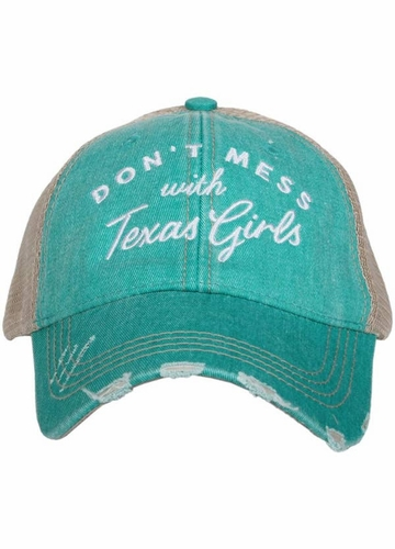 Don't Mess with Texas Girls Hat