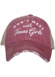 Don't Mess with Texas Girls Hat inset 1