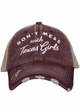 Don't Mess with Texas Girls Hat inset 3