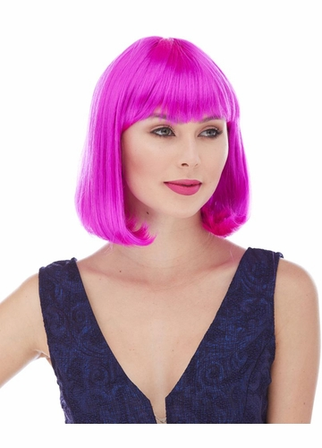 Edgy Party Page Wig in 30 Costume Colors