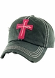 Faith Cross Vintage Distressed Baseball Cap inset 4