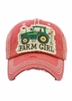 Farm Girl Vintage Patch Baseball Hat inset 1