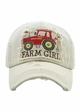 Farm Girl Vintage Patch Baseball Hat inset 3