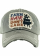 Farm Hair Don't Care Patch Baseball Hat inset 1
