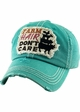 Farm Hair Don't Care Patch Baseball Hat inset 2