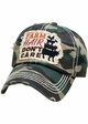 Farm Hair Don't Care Patch Baseball Hat inset 3
