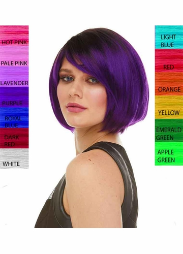 Fierce Short Bob Wig Becky in 30 Costume Colors
