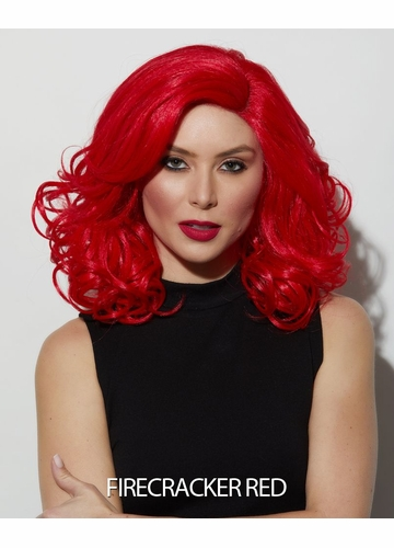Firecracker Red Lace Front Wig Reagan