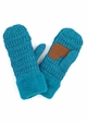 Fleece Lined CC Mittens Gloves inset 4