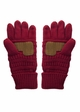 Fleece Lined Knit CC Gloves inset 4