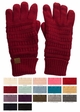 Fleece Lined Knit CC Gloves inset 1