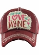 FOR THE LOVE OF WINE Vintage Baseball Hat inset 2