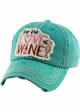 FOR THE LOVE OF WINE Vintage Baseball Hat inset 4