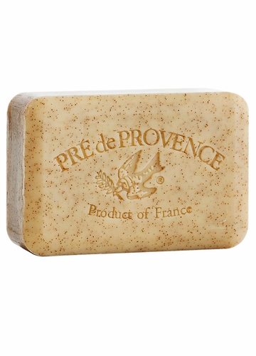 French Soap Bar with Shea Butter - Honey Almond