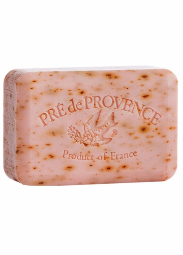 French Soap Bar with Shea Butter - Rose Petal