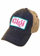 Gigi Patch Baseball Hat inset 1