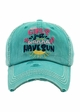 GIRLS Just Wanna HAVE SUN Baseball Hat inset 1